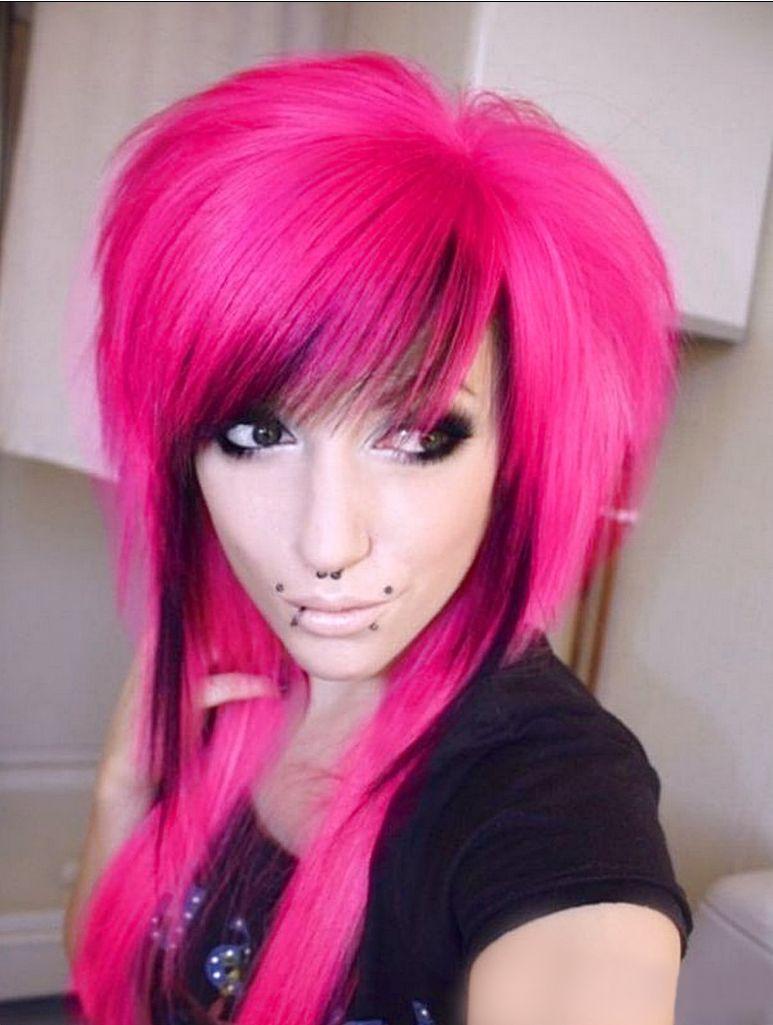 Awe Inspiring Emo Hairstyles Emo Style And Hairstyles For Girls On Pinterest Short Hairstyles Gunalazisus