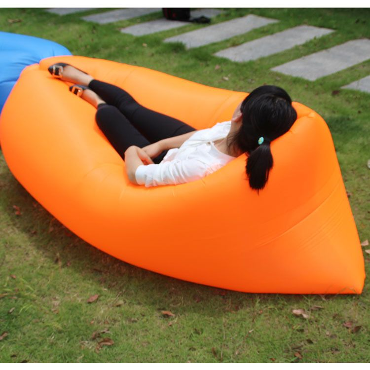 Baby Children Sofa Bed Lazy Beach Inflatable Kids Chairs Sleeping Bag Inflation Free Travel Outdoor