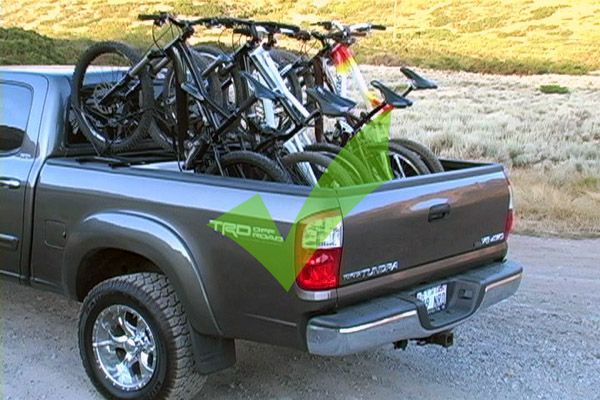 Above Bed Bike Racks Google Search Pickup Truck Bed Covers Tonneau Cover Bike Roof Rack