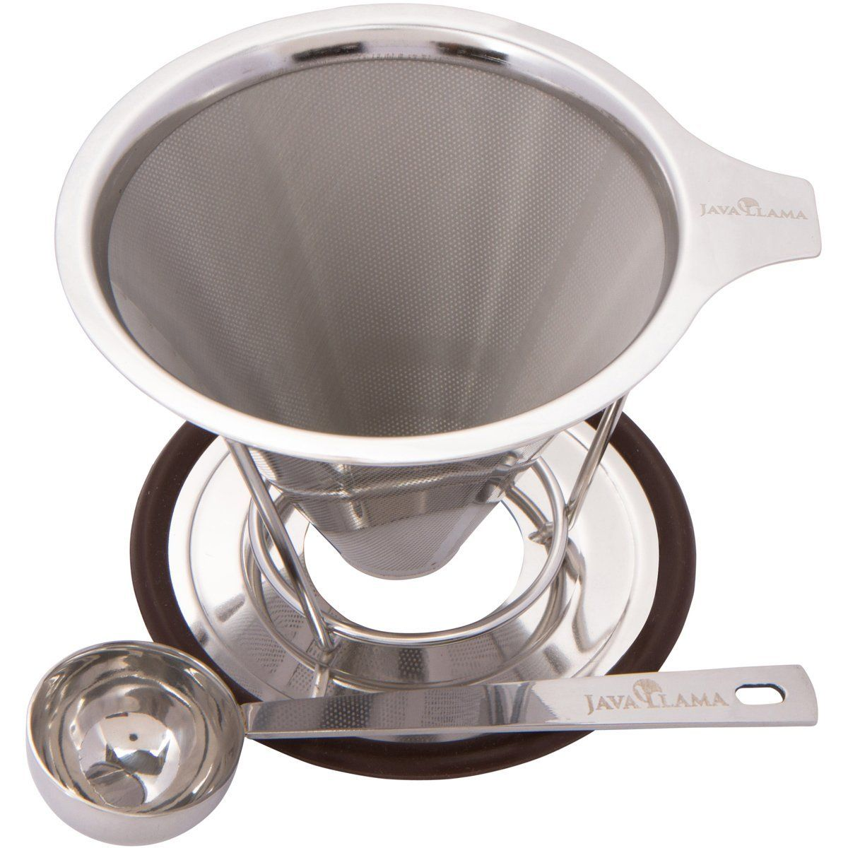 Java llama stainless steel pour over coffee maker find