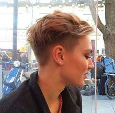23 Latest Pixie Shaved Hairstyles Pixie saç, Kısa saç ve