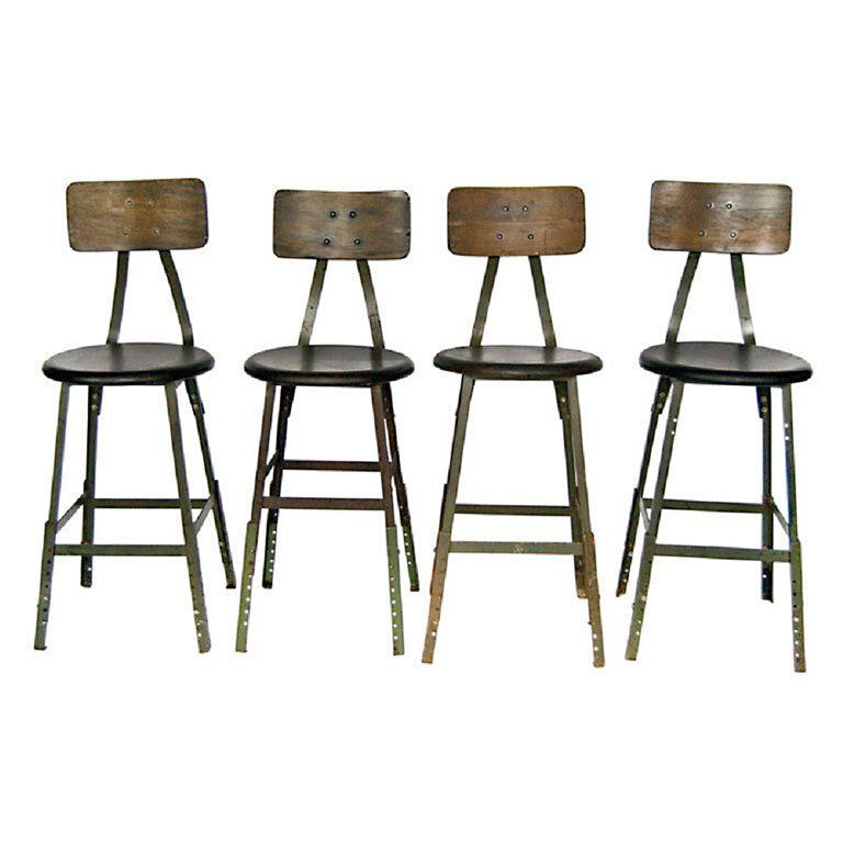 Awesome 1940S American Industrial Stools More Available In 2019 Cjindustries Chair Design For Home Cjindustriesco