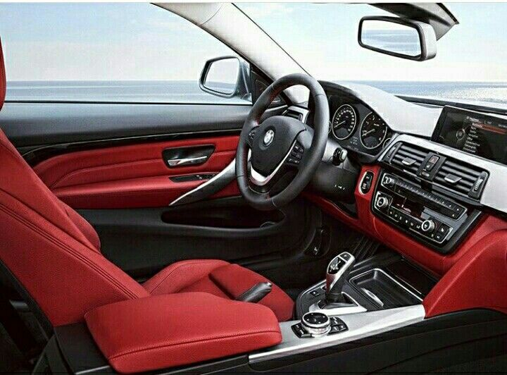Bmw 4 Series Gran Coupe Red Interior - picture.idokeren