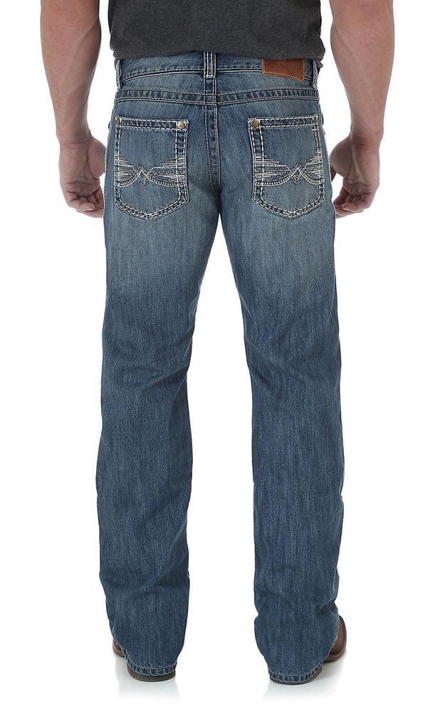 Wrangler Mens Western Regular Bootcut Jean
