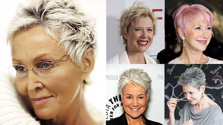eda5c9fded80 Los mejores cortes de pelo cortos nuevos Pixie para mujeres mayores de 50  años, diseños de pelo corto para ser el favorito en 2018.