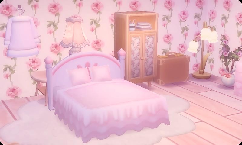 Pale Pink Wallpaper Custom Qr Credit Animal Crossing Pale
