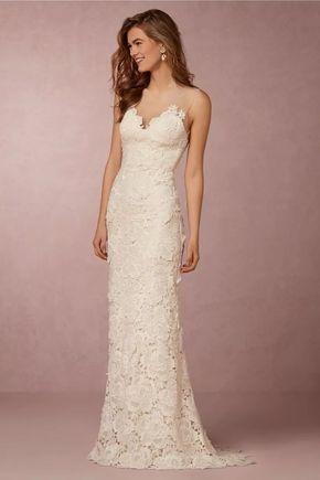 49bc76772 luxo: vestido de noiva em renda guipir e decote em tule | casamento ...