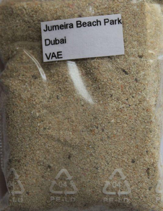Sample Sands Sand Jumeira Beach Park Dubai UAE | eBay | Sand