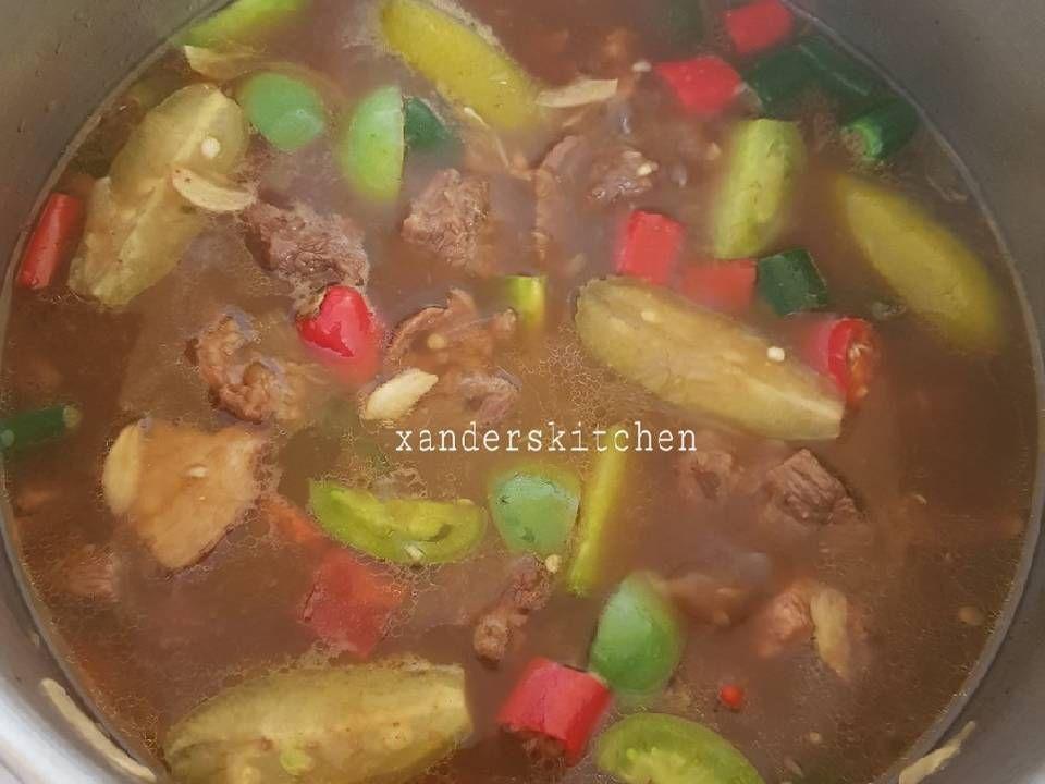 Resep Asem Asem Daging Oleh Xander S Kitchen Resep Makanan Resep Masakan Masakan