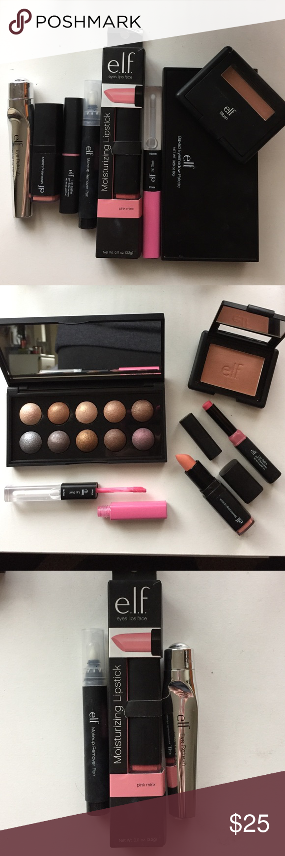 ELF Bundle NWT ELF Moisturizing Lipstick in Pink Minx