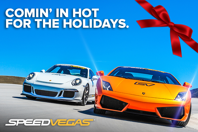 Celebrate This Holiday Season In Style Drive A Porsche A Lamborghini At Speedvegas Nothing Beats Driving Experience Super Cars Supercar Driving Experience