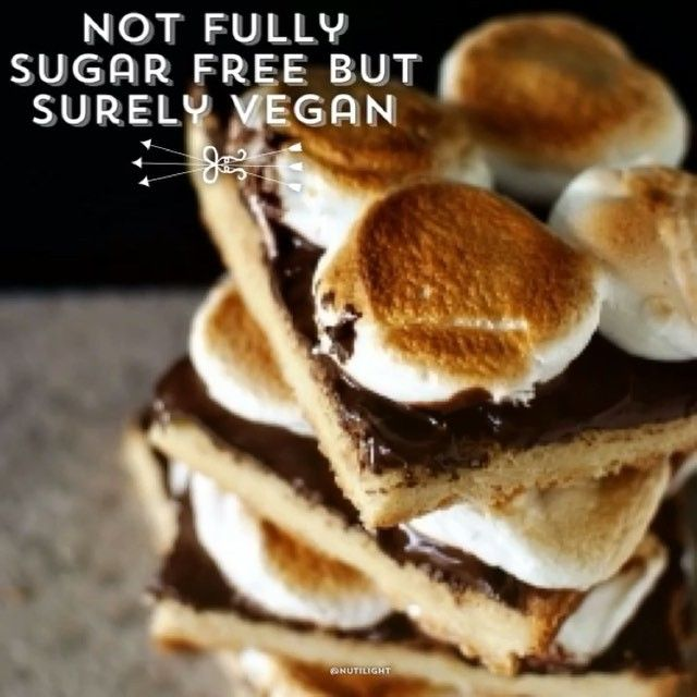 Not fully sugar free but surely #vegan and delicious!! Made with @mydandies vegan marshmallows! #nationalchocolatecakeday #chocolate #marshmallows #healthy #fitness #sweet #cake #smores #paleo #keto #love #instagood #instalike #foodie #yummy #fitfam #bake #perfect #thebest #wednesday #diet #veganfoodshare #veganfoodporn #snack #yoga #eatclean #food #healthyliving