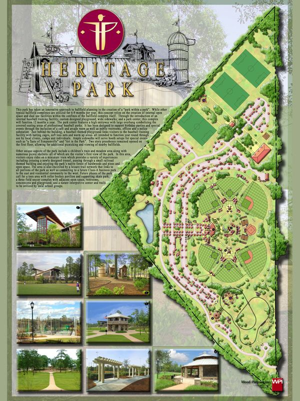 Heritage Park Master Plan Landscape Design Landscape Architecture Landscape