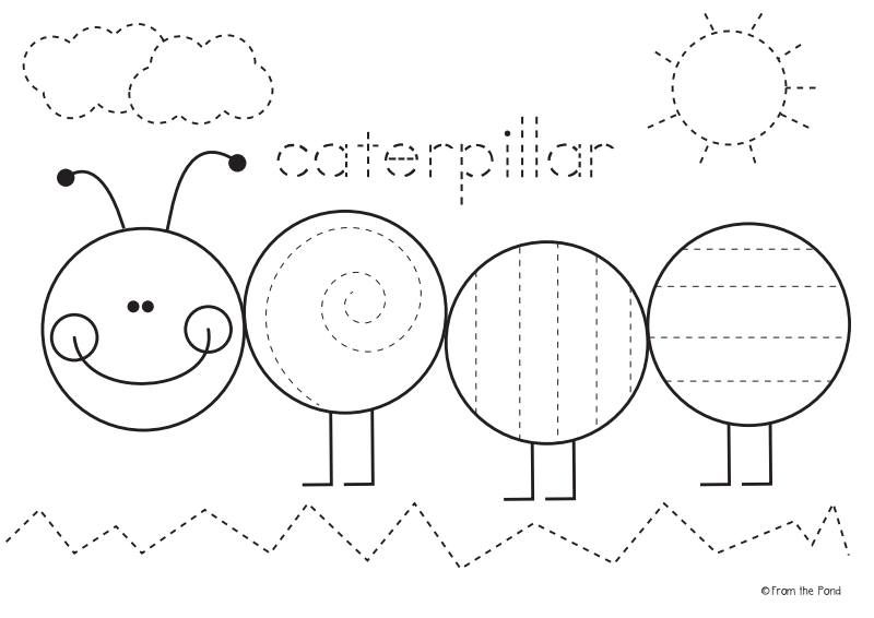 Freebie Caterpillar Worksheet Pdf Google Drive Preschool Worksheets Bugs Preschool Preschool Activities