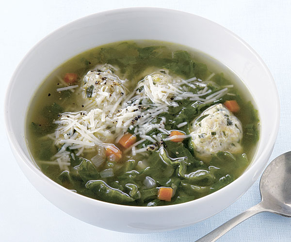 Chicken Meatball and Escarole Soup Recipe in 2020