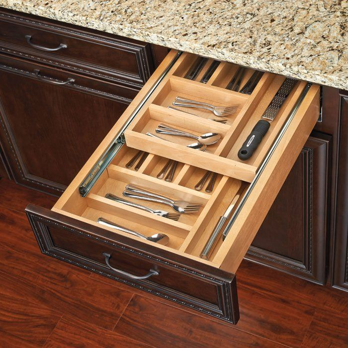 Medium Pull Out Drawer Kitchen Pantry Storage Best Kitchen Cabinets Cutlery Drawer
