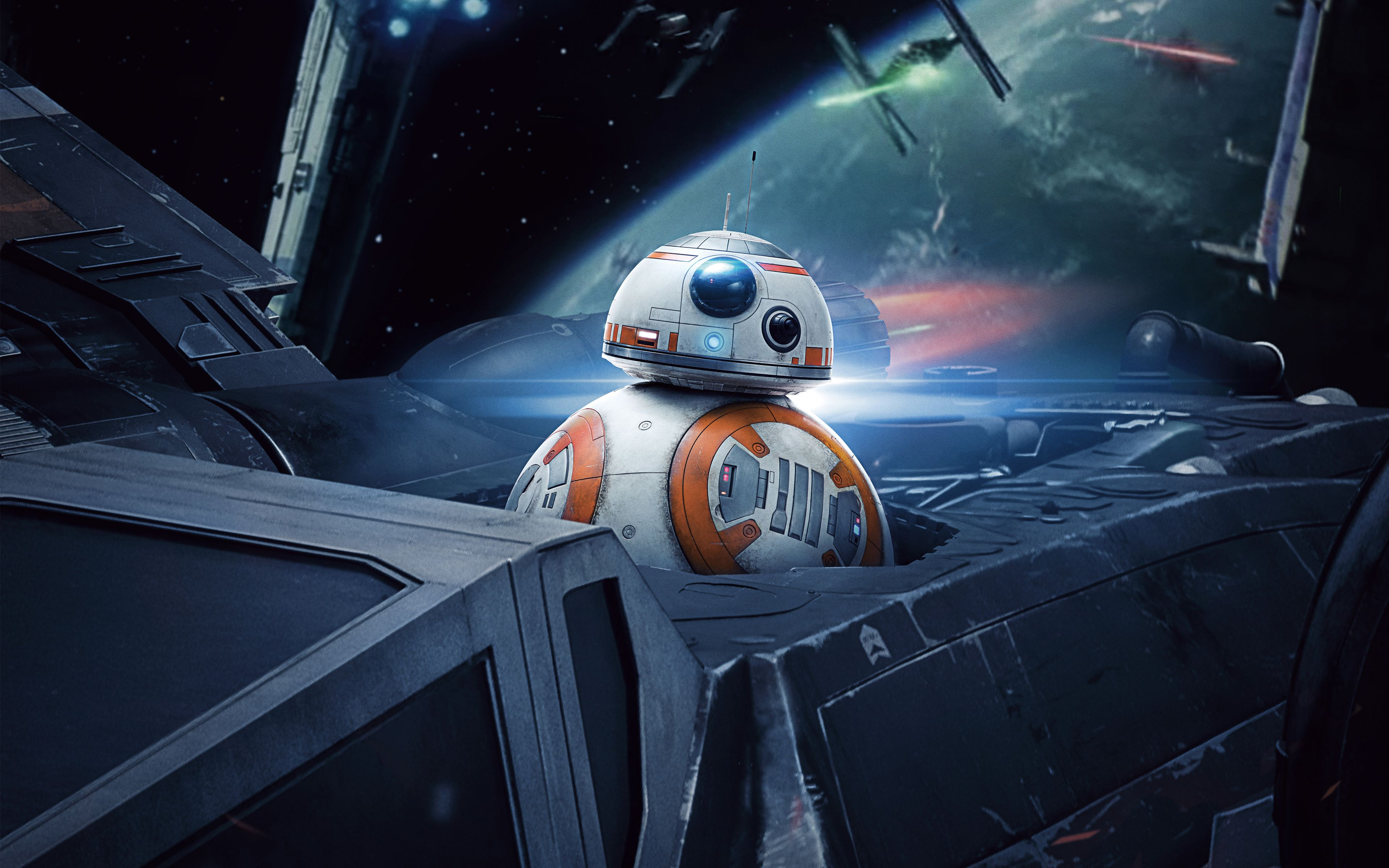 Bb 8 In Star Wars The Last Jedi 4k Star Wars Hintergrundbild Bb8 Star Wars Stormtrooper High resolution 4k wallpaper star wars
