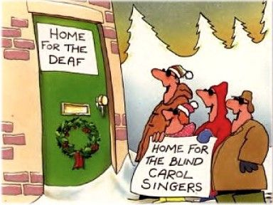 Blind Choir Christmas Humor Holiday Humor Humor