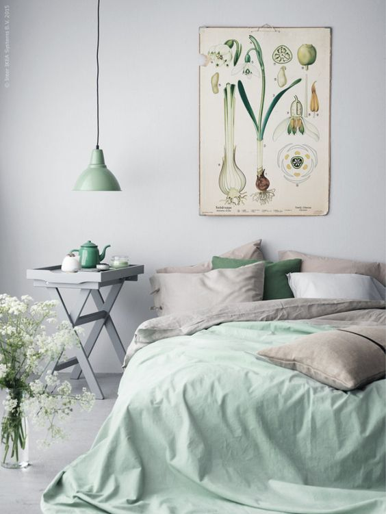 8 Swoon Worthy Bedrooms You Ll Want To Relax In Wonder Forest Bedroom Mint