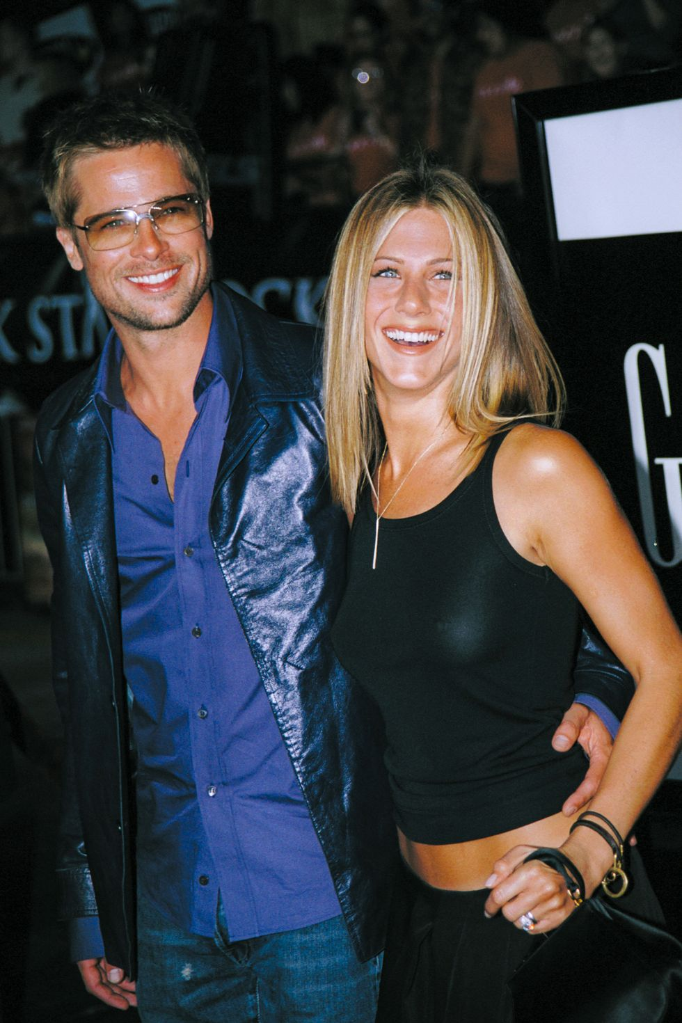 "Relive Brad Pitt and Jennifer Aniston's Romance, From the '90s to Their ""Flirtatious"" Current Relationship"