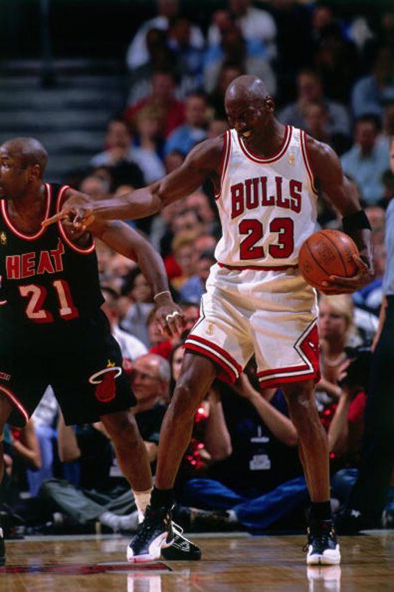 414125d2d70 Michael Jordan wearing the Air Jordan 12