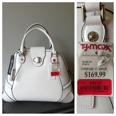 b1781906e60e Iliana scored this Cromia handbag on clearance for  89!  maxxinista  handbag   fashion. Find this Pin and more on TJ Maxx Marshalls HomeGoods ...