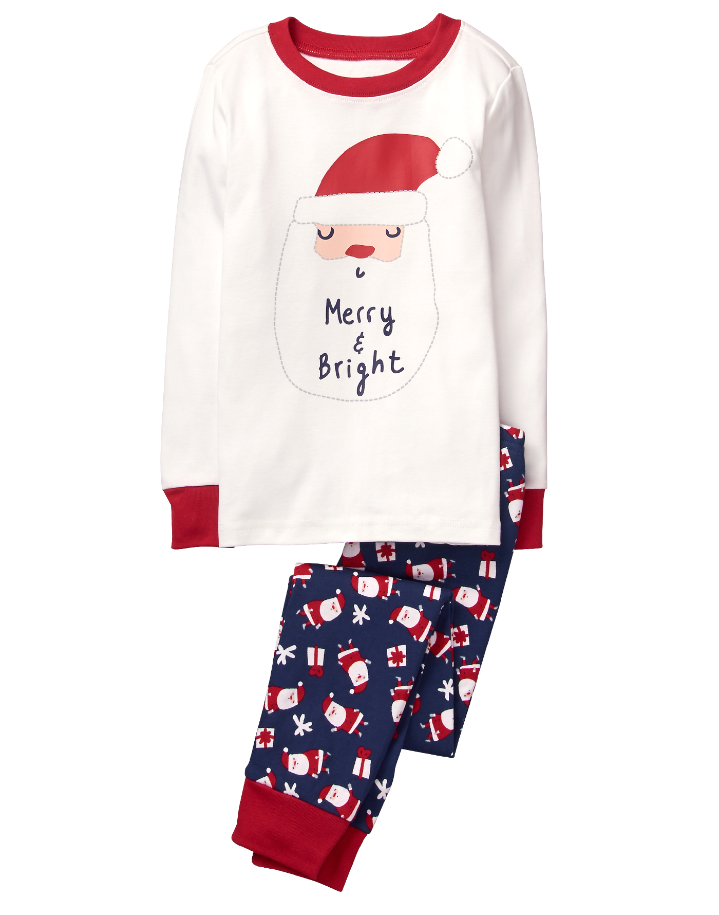 01927a0d0181 Santa 2-Piece Gymmies