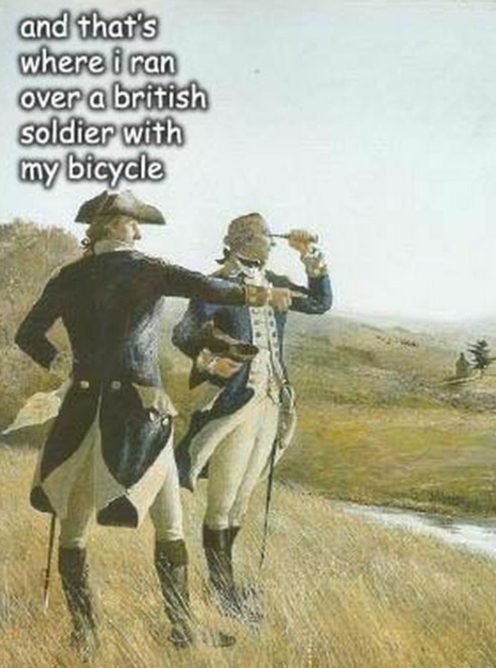 George Washington, always in my heart.