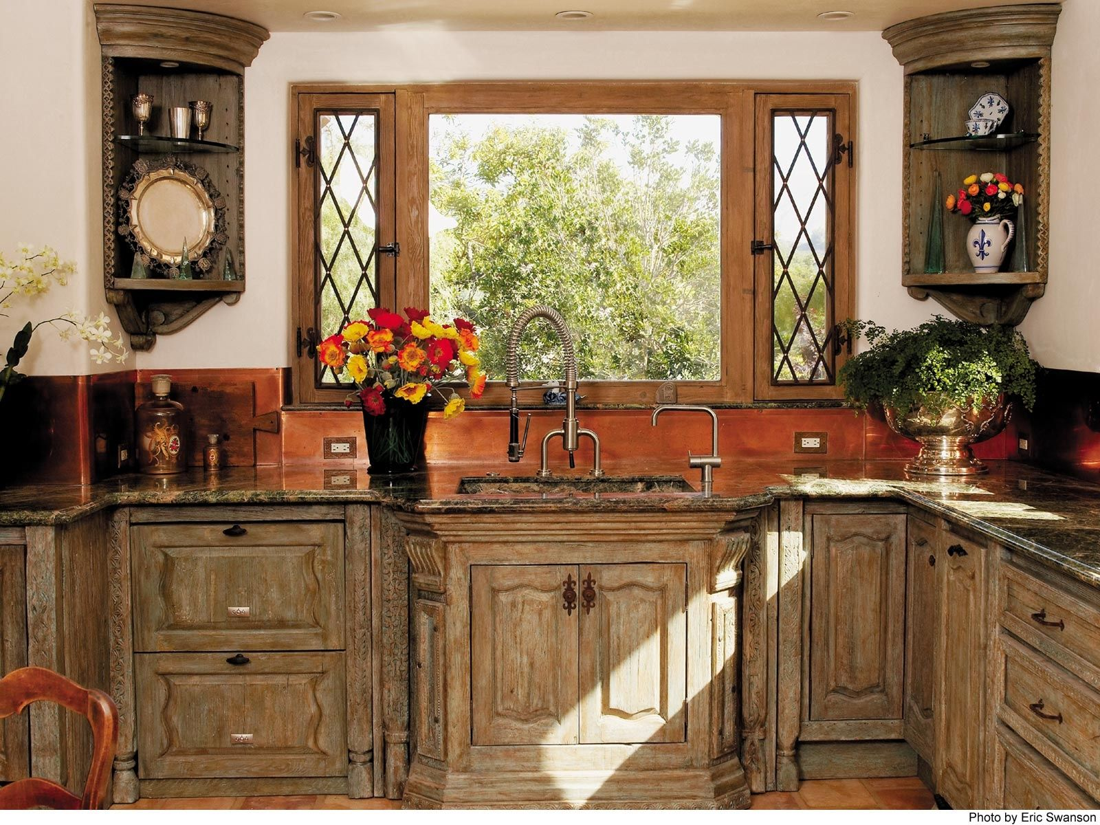 Custom Country Kitchen Cabinets 24 country kitchen designs | custom kitchen cabinets and custom