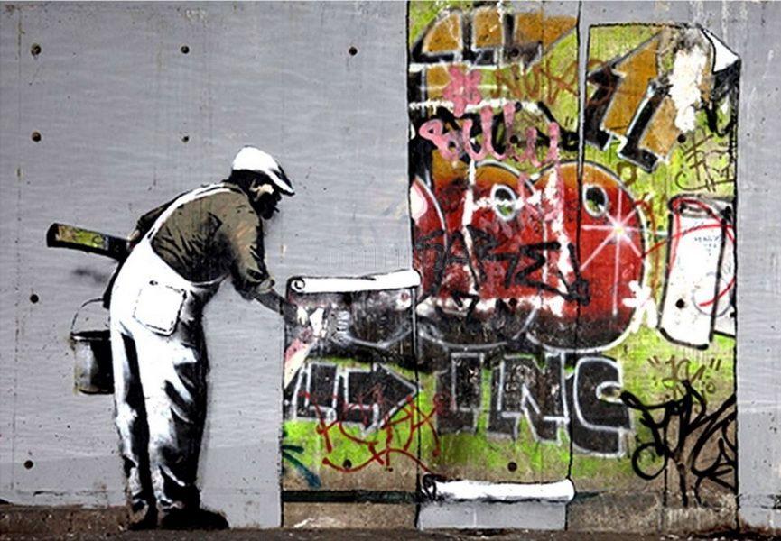 10 BANKSY STREET ARTWORKS IN LONDON