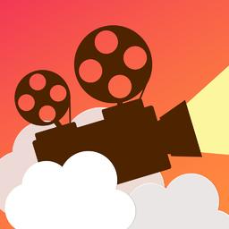 Slidestory 思い出の写真とカワイイ音楽から結婚式やカップルでの感動スライドショー動画 ビデオを撮影して子供とペットの成長記録スナップムービーを簡単に作成 アプリアイコン 動画編集 可愛い 動画