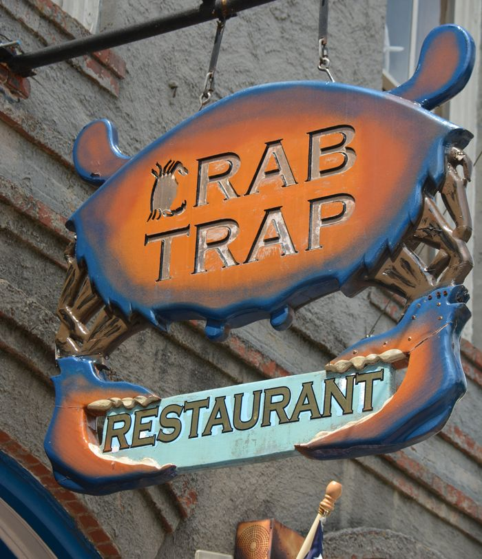 The Crab Trap Is A Seafood Restaurant Located In