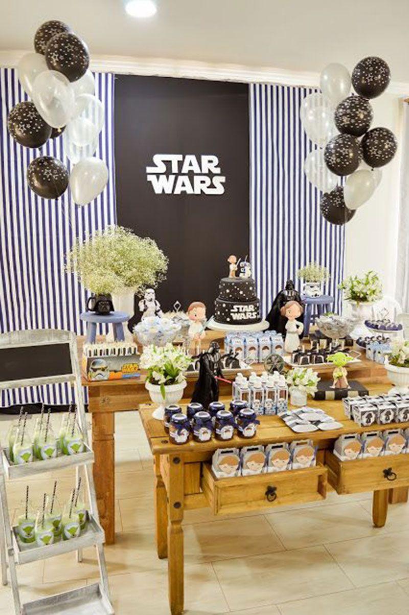 Festa Star Wars 68 Inspiracoes De Festas Infantis Com Imagens