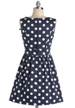 The Pennsylvania Polka Dots Dress, #ModCloth
