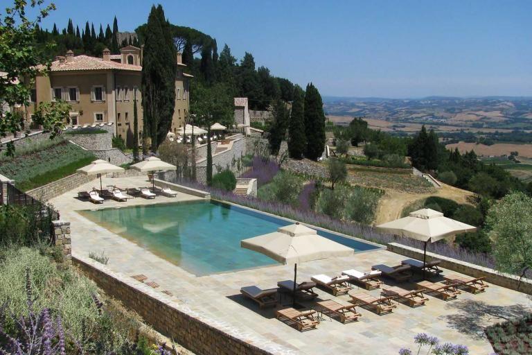 Castiglion Del Bosco Tuscany Italy Brunello Development