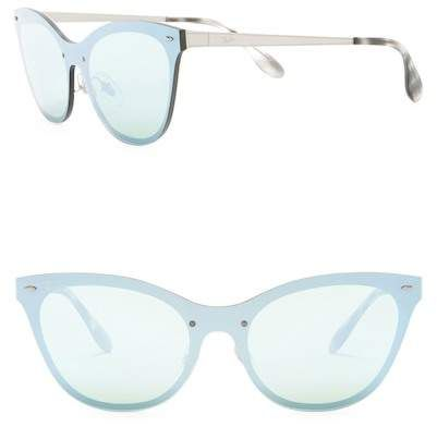 ba36b49f9b04 Ray-Ban 153mm Cat Eye Shield Sunglasses   Products   Blue mirrors ...