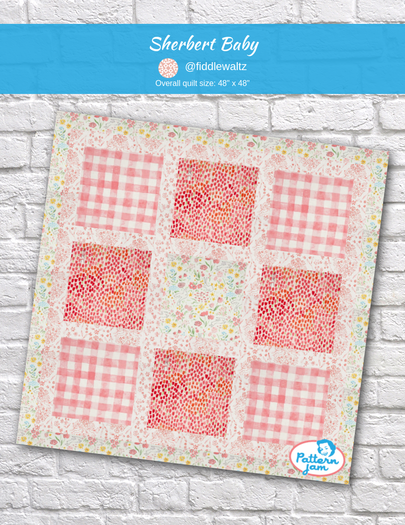 Sherbert Baby Quilt Patterns Madewithpatternjam Quilts Custom