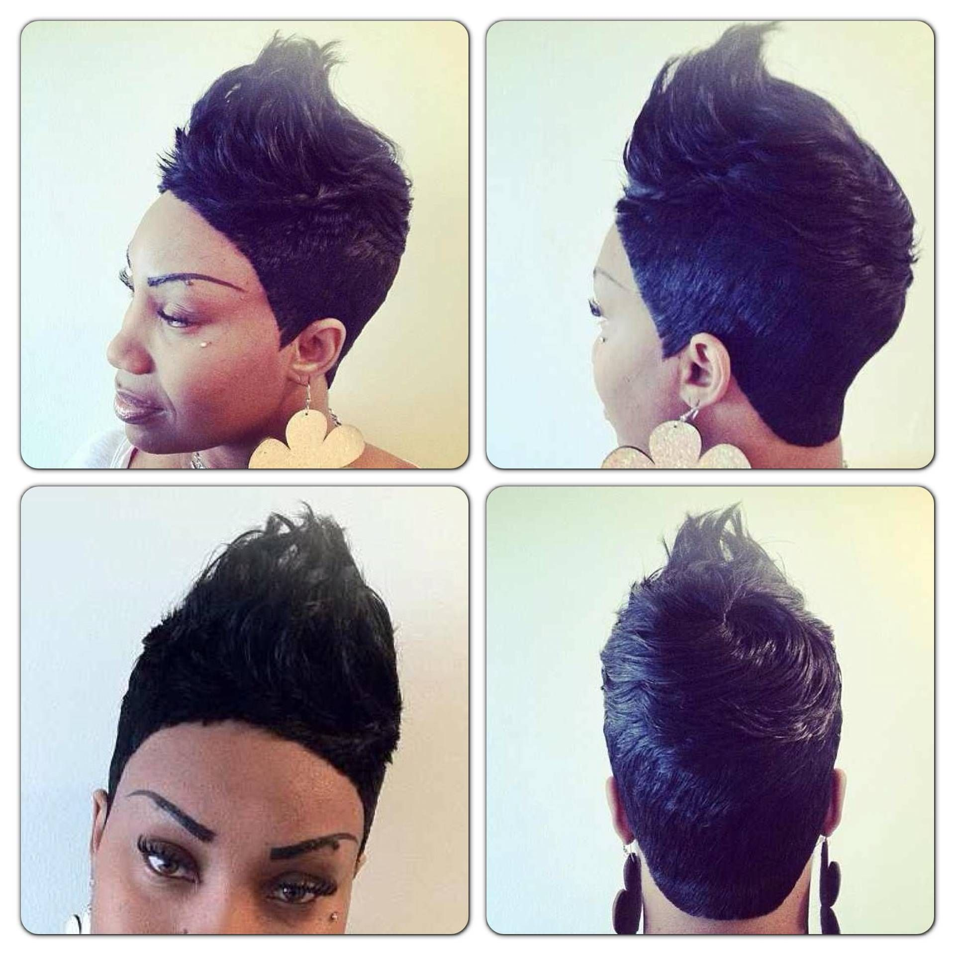 Short Hair Piece Style Quick Weave Hairstyles 27 Piece Hairstyles Bump Hairstyles