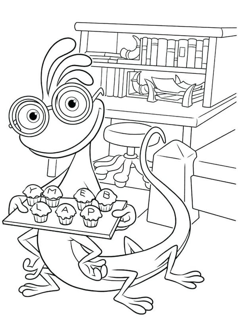 Monster Inc Coloring Pages Free Halloweencoloringpages Monster Inc Coloring Pages Free Coloring Pages The Monster Inc Monsters Inc Monsters Inc Colores Inc