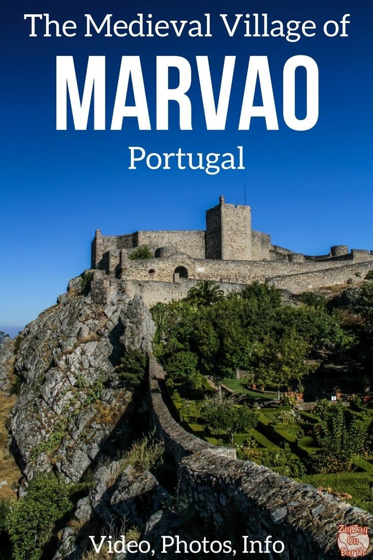 Visiting the Scenic Medieval Village of Marvao Portugal