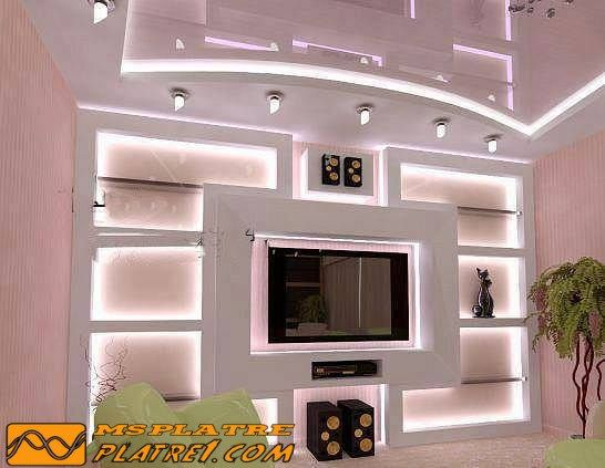 Platre 2015 soci t ms platre d coration for Decoration platre salon