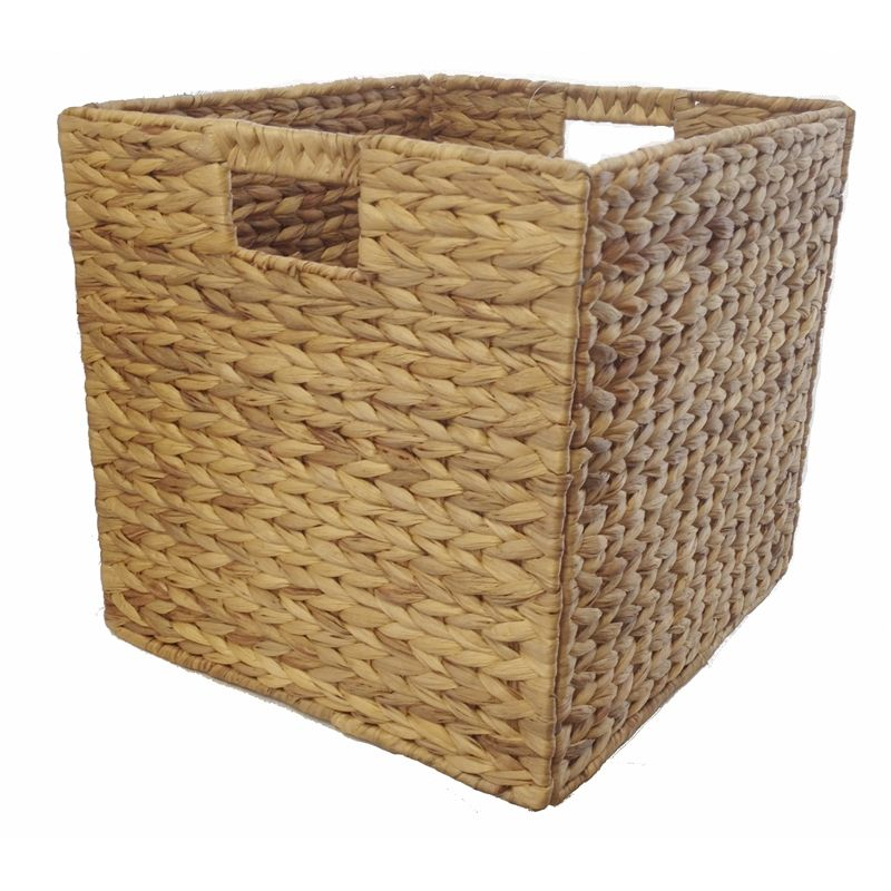 Good Clever Cube 330 X 330 X 360mm Water Hyacinth Natural Insert