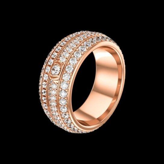 Anello Piaget Possession - Gioielli della collezione Piaget Holiday Season: modello in oro rosa 18k