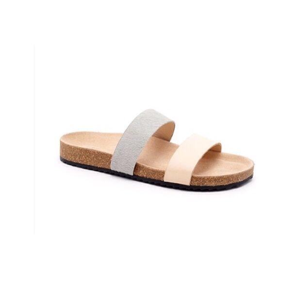Paz two-tone sandal // Loeffler Randal