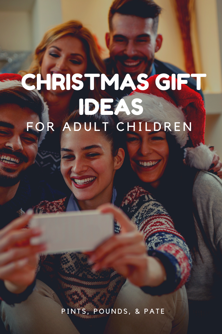 Christmas gift ideas for your grown son or daughter, that they'll actually like! #christmasgiftguide #christmasgiftideas #christmasgiftsforgrownchildren #christmasgiftsforadultchildren #christmasgiftforgrownson #christmasgiftforgrowndaughter #christmasgiftideaforgrownkids #christmasgiftideasforadultkids