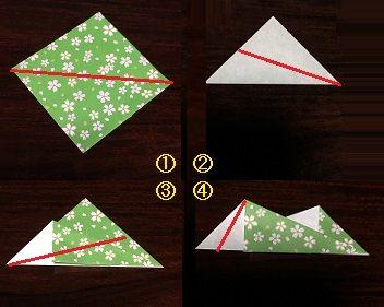 折り紙リース 折り方 簡単 Origami Origamipaper Craftscrafts