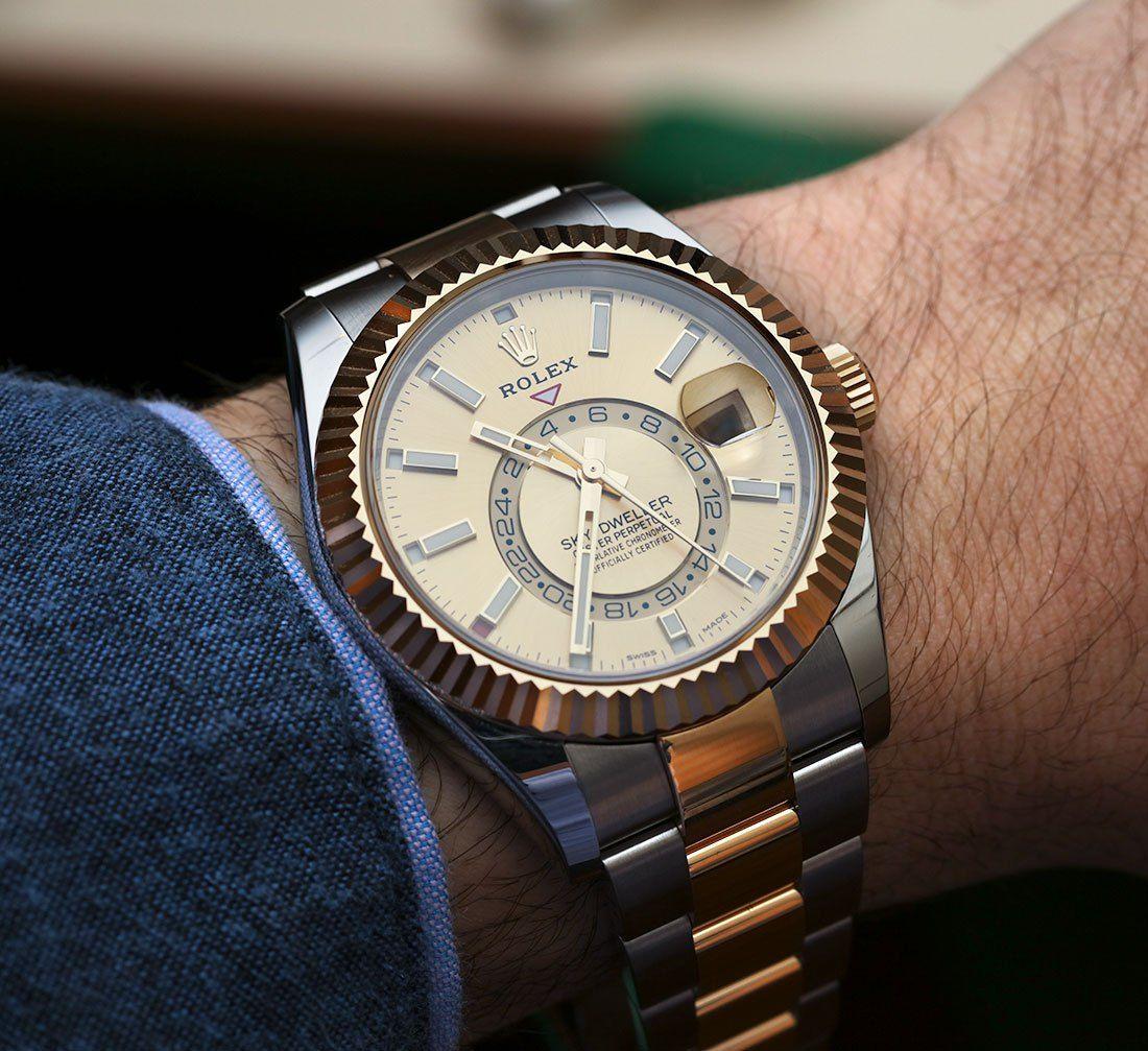 Rolex Sky,Dweller Watch Review Wrist Time Reviews