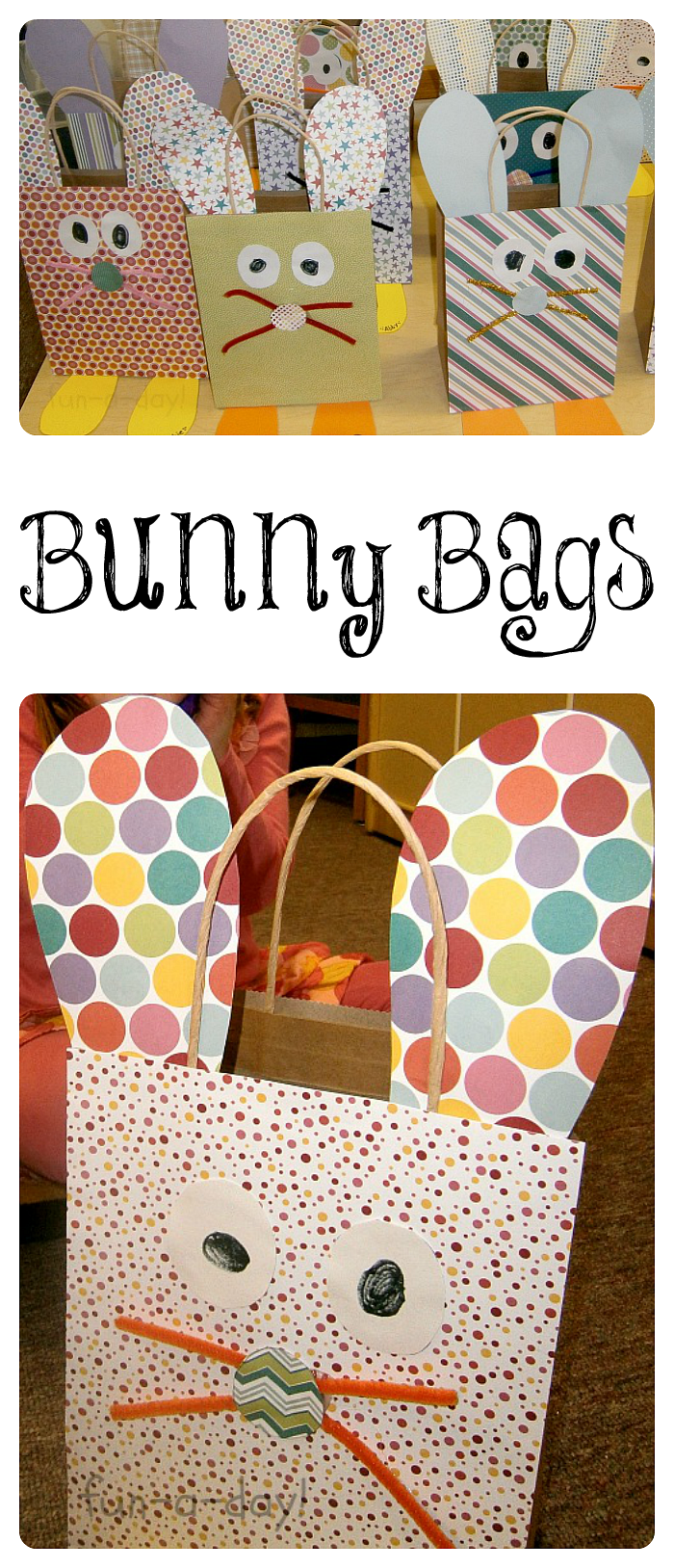 Easter craft for kids bunny bags easter crafts easter and bunny bunny bags are an easy easter craft for kids to make before an easter egg hunt negle Gallery