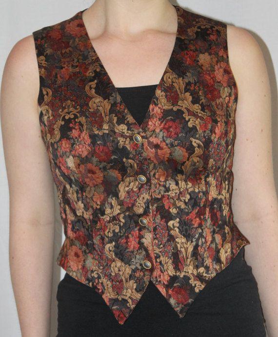 1990's brocade vest