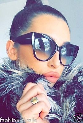Details about Anoushka Cat Eye oversized XXL Thick Frames SEXY GIRL Women Sunglasses